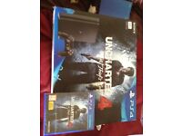 Brand new in box with selafane on, Uncharted4 A Thiefs end