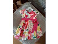 Beautiful Ralph Lauren Floral Dress VGC