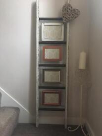 Ladder Photo Holder