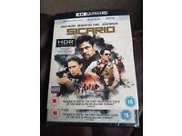 Sicario: 4K Ultra HD and Blu Ray