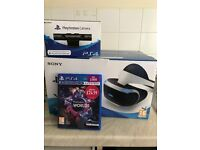 PlayStation VR, camera and VR worlds