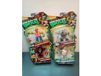 4 monster and mutants collectible ninja turtles set