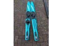 Taperflex Water Skis Orion RM50 in Blue