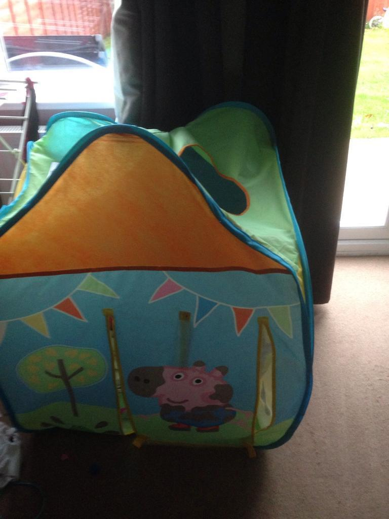 Peppa pig pop up play house