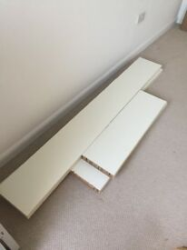 Ikea shelves (2 long, 2 short)