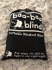 Travel black out blind