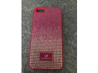 Swarovski iPhone 5 5s 5se phone case pink