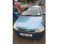 cheap run opel corsa low mileage new mot passed