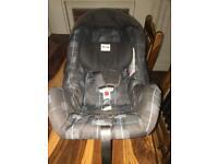 Britax car seat birth onwards.