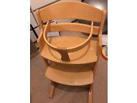 Babydan High Chair - Natural