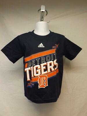 New-Detroit Tigers Kleinkind Größe 2t Blau Adidas Shirt