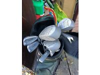 Good clubs full set with bag