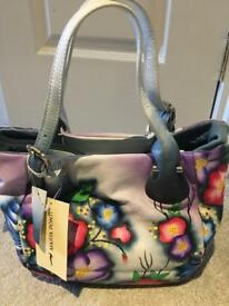 Stunning Marta Ponti Leather Bag (BNWT)