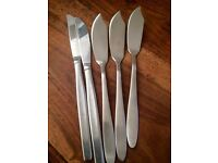 Windsor fish cutlery brand new quality stainless steel mixed with dinner set approx 100