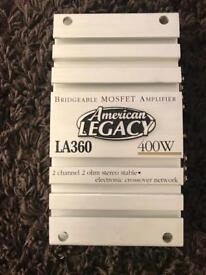 Legacy LA360 amplifier - 2 channel