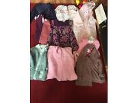 Girls clothes bundle mixed 12-18 and 9-12