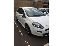 Fiat punto Gbt 1.4 3 dr with brio pack in white excellent condition
