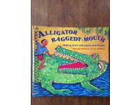 Alligator Raggedy Mouth by Marueen Hanke music education book