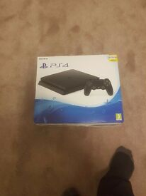 Brand new boxed sony ps4 with receipt 1 day old