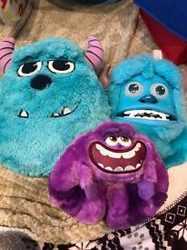 Children's Toys Monsters Inc Collection