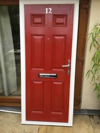 External quality composite fire door