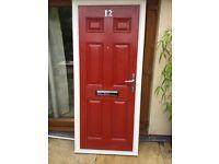 External quality composite fire door