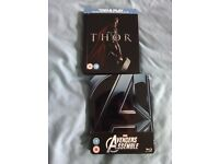Thor/Avengers Assemble Ltd Edition Steelbooks *RARE* £20 Colllection Only!