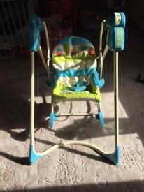 3 in 1 chair rocker swing