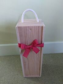 Wooden Presentation Box for a Magnum of Wine
