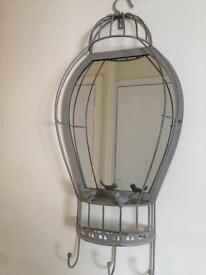 Metal Wall Mirror for Hall Bedroom or Bathroom !