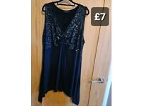 Plus size women's tunics and tops