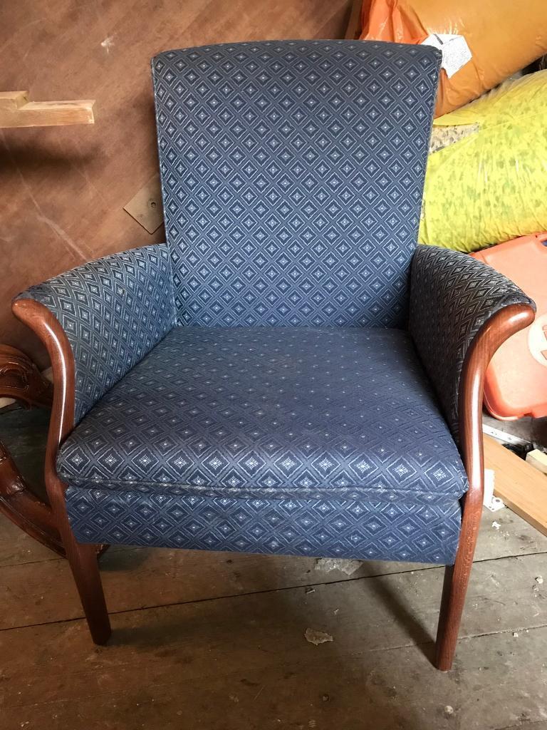 Parker knoll armchair retro vintage chair