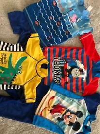 Boys swimming bundle