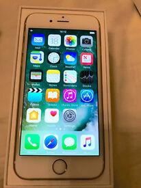 Apple iPhone 6s 64gb gold unlocked mint warranty