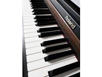 Roland HP101e Electric Piano ! Full size
