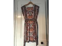Warehouse flowery dress. Size 10