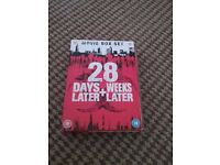 28 days later and 28 weeks later dvd boxset Brand new