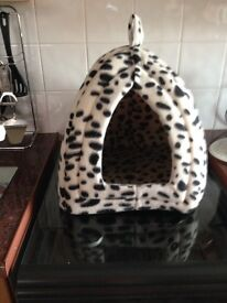 Cat bed and cat igloo