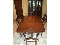 Arighi Bianchi Strongbow extendable dining table & 6 chairs