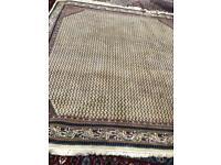 Sarough Mir royal handmade wool rug