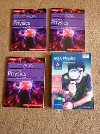 Alevel sociology, physics & psychology books