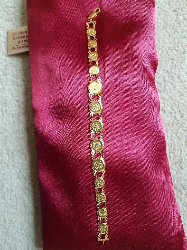 Women\'s niche 22ct hall marked Gold bracelet. | in Redbridge, London ...