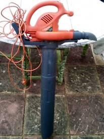 Electric leaf blower vac shredder Flymo Twister 2500