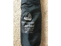 Backpacker airbed