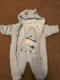 Winter baby boy bundle 0-3 months