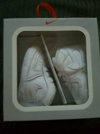 Nike air forces ones in the box