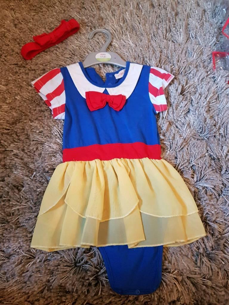 Snow white vest/costume