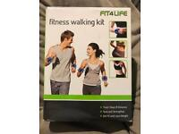 Fit 4 Life - fitness walking kit (weight / pedometer)