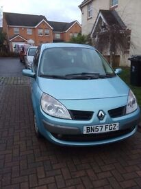 RENAULT SCENIC - BRAND NEW MOT & 4 BRAND NEW MICHELIN TYRES.....FULL SERVICE HISTORY