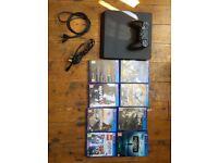 Sony PlayStation 4 Slim 1TB Jet Black Console (Bundle)